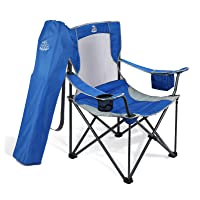 Deals on DEERFAMY Lawn Chairs w/Cooler Side Pocket & Carrying Bag
