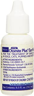 Otomite Plus Ear Mite Treatment, 0.5-Ounce