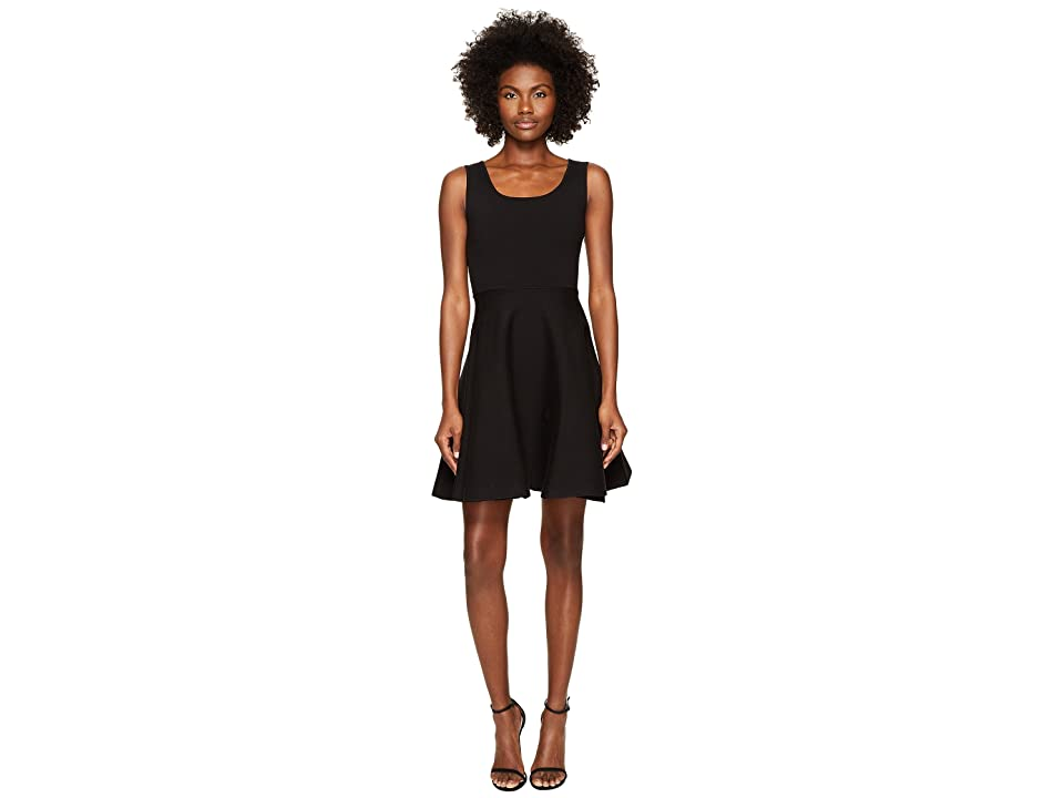DSQUARED2 Sleeveless Fit and Flare Dress (Black) Women