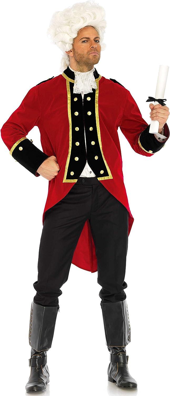 Leg Avenue LO85652 - rot Coat Männer Kostüm, Größe XL (Rot) B075LGMBH9 Smart  | Hat einen langen Ruf