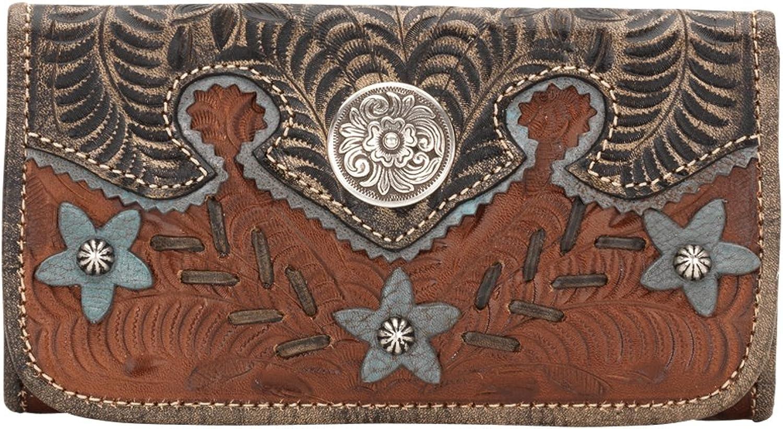 American West Desert Wildflower Collection Ladies' TriFold Wallet