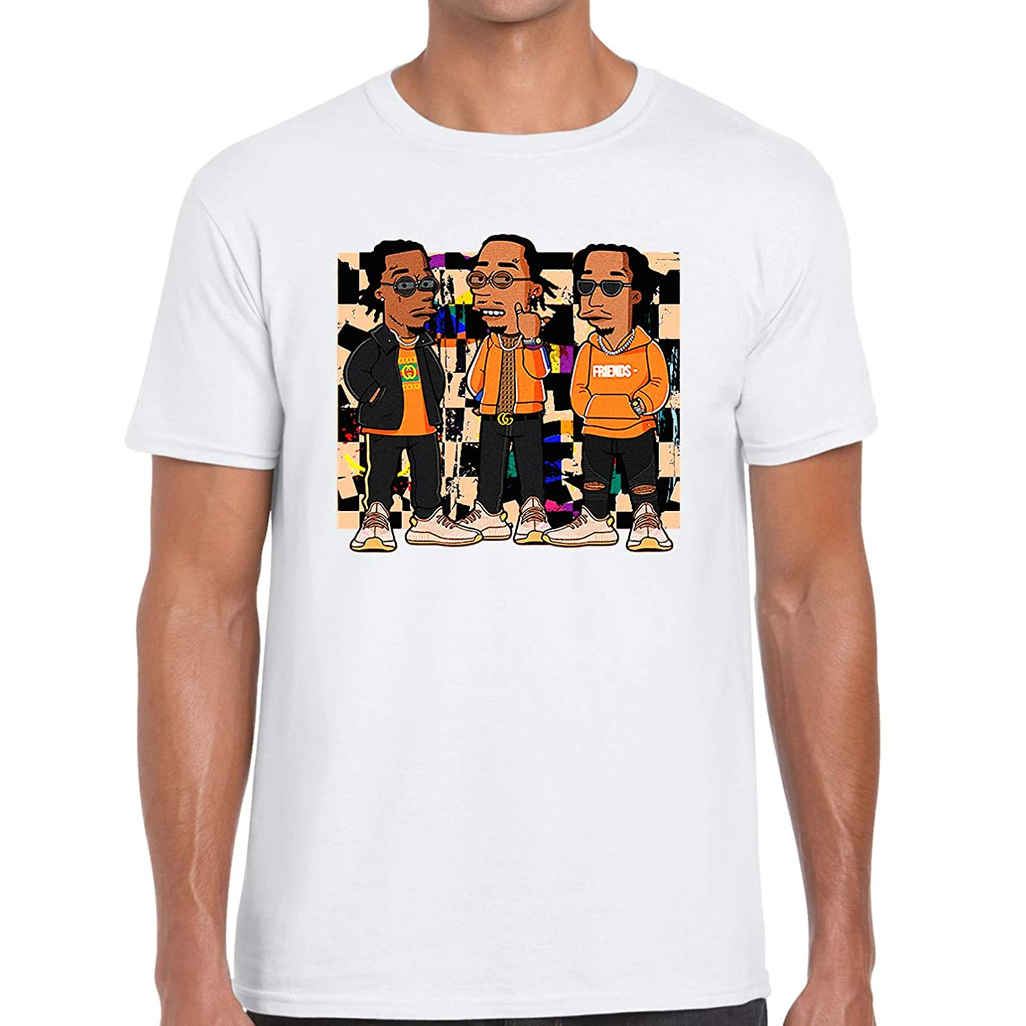 Custom Graphic Printed T Shirt to Matching Yeezy Boost 350 V2 Clay Migos