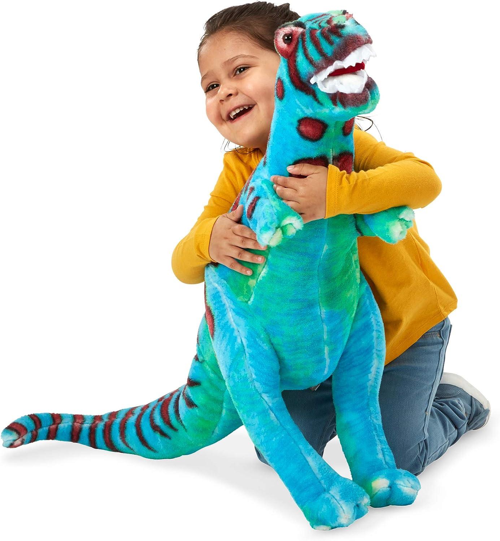 Melissa Outlet sale feature Doug Be super welcome Giant T-Rex Dinosaur o Lifelike Animal - Stuffed