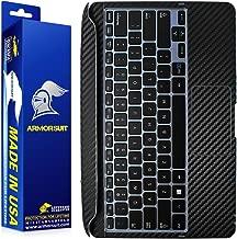 ArmorSuit Samsung ATIV Smart PC 700T Keyboard Black Carbon Fiber Skin Wrap For Samsung ATIV Smart PC 700T Keyboard