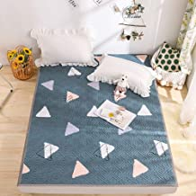 Floral Korean Tatami Floor Mattress,Thin Soft Mattress Protector,Japanese Futon Mattress, Foldable Bed Roll Up Camping Mat...