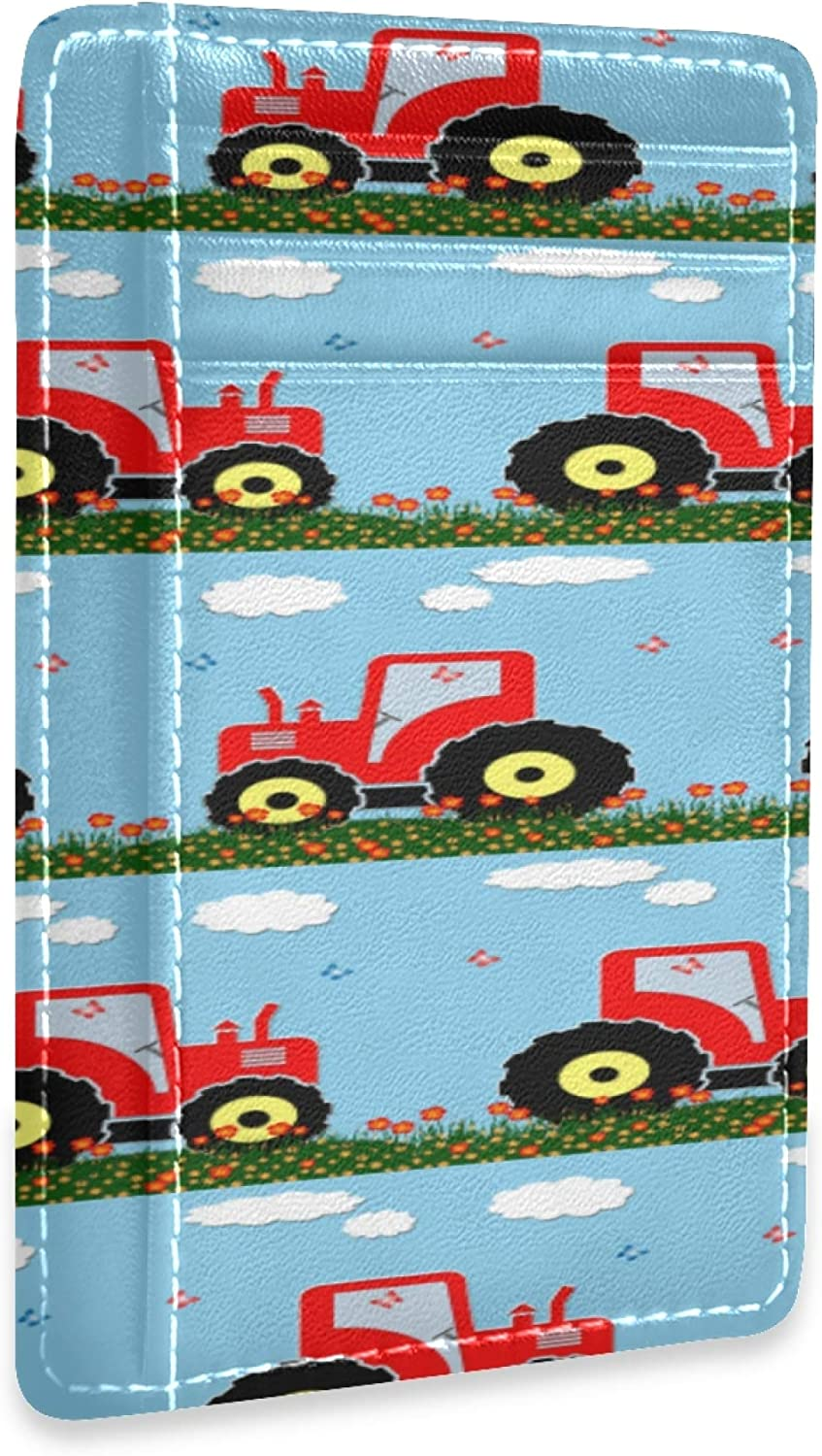 OFFicial store Clip Wallet Cartoon Animation Ranking TOP15 Retro Tractor Toy F Inserts