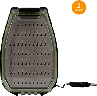 Aventik Waterproof Fly Box Flies Box 6.64x3.72x1.88inch