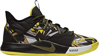 Nike Men's PG 3 Multicolor/Black Synthetic Basketball Shoes 11 M US