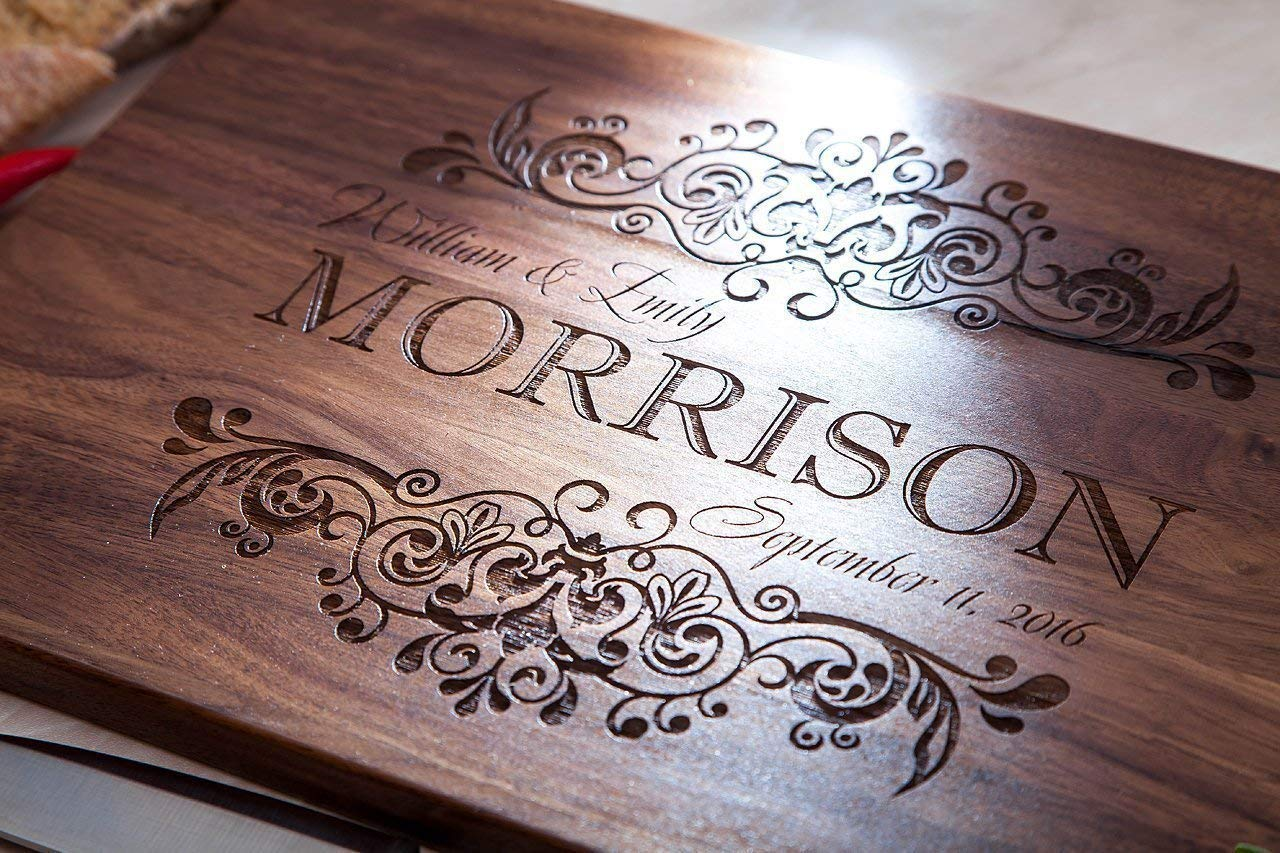 Personalized Cutting Board - Low price Safety and trust Christmas gift Decor Home Rustic
