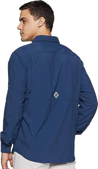 Columbia Cascades Explorer Long Sleeve Shirt Camiseta de Manga Larga para Senderismo Hombre