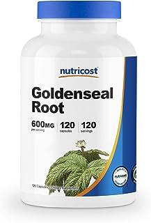 Nutricost Goldenseal Root 600mg, 120 Capsules - Non-GMO, Gluten Free, Veggie Capsules