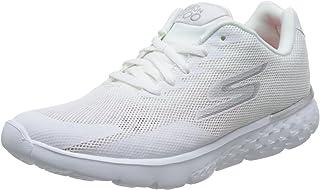 Skechers 斯凯奇 GO RUN 400系列 女 透气三明治网布轻质跑鞋 15299