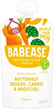 Babease Stage 1 Butternut Squash Carrot & Broccoli 100g (Pack of 8)