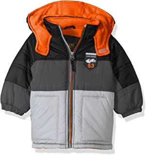 iXtreme Baby Boys Infant Coloblock Puffer W/Patch