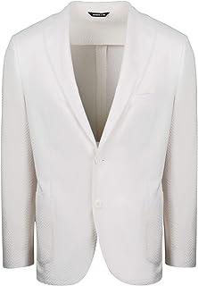 TONELLO Luxury Fashion Mens 06G327S3169U002 White Blazer | Spring Summer 20