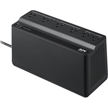 APC UPS, 425VA UPS Battery Backup Surge Protector, BE425M Backup Battery Power Supply, Back-UPS Series