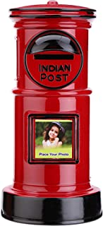 Sukhson India (India-Post) Box Coin Piggy Bank Saving Money Storage Box Gifts for Kids, Girls, Boys - Red
