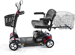 Pride Mobility Go-Go Sport 4-wheel Travel Pride Electric Scooter+ Rear Basket