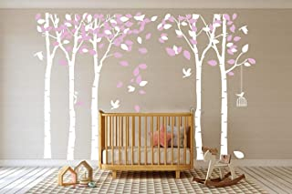Best white and pink tree wall decal Reviews