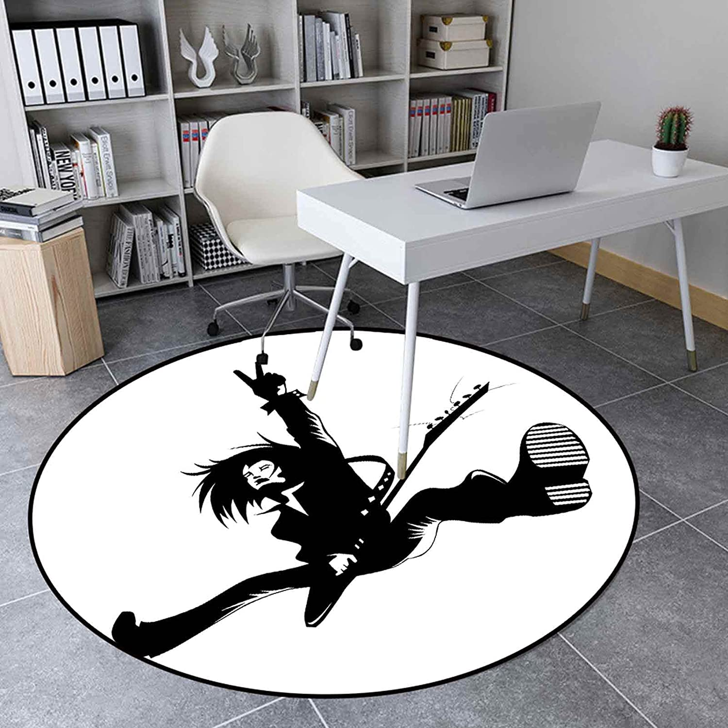 Round Area Rugs Weekly update 4.3 free shipping Ft Floor Carpet Lead for Guit Kitchen