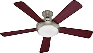 hunter 21627 palermo 52 inch brushed nickel fan