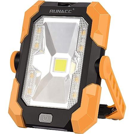 LED Scheinwerfer Akku Flutlicht Ständer-Arbeitslicht mit 360 ° Drehung Outdoor