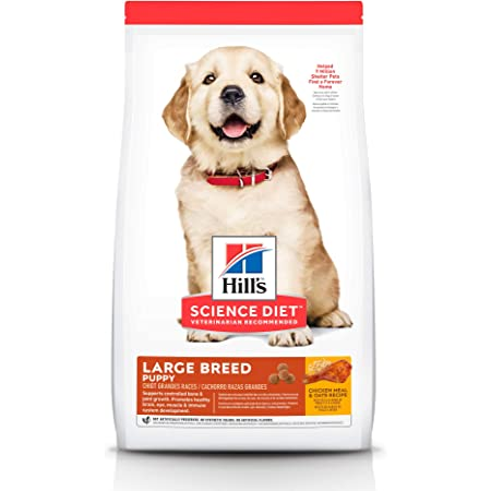 Hill's Science Diet, Alimento para Perro Puppy (Cachorro) Raza Grande, Seco (bulto) 7kg