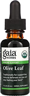 GAIA HERBS Olive Leaf Supplements, 1 oz