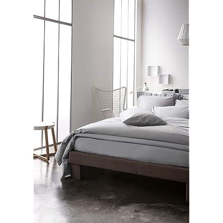 Today 201211 Drap Housse Gris (Zinc) - 160 x 200 cm