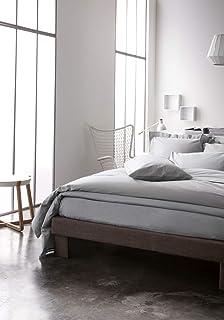 Today Drap Housse Jersey - 100% Coton - Zinc - 160x200 cm