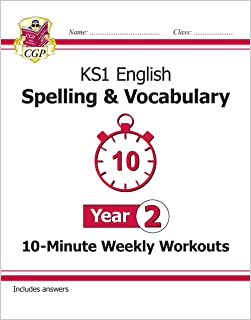 New KS1 English 10-Minute Weekly Workouts: Spelling & Vocabulary - Year 2