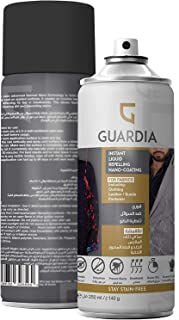 Guardia Instant Anti-Stain & Waterproof Spray-Liquid Repelling Hydrophobic NanoCoating-Protection for Sneakers,Clothes,Sof...