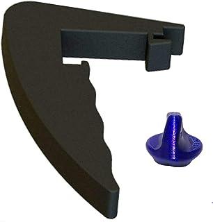 TronicXL Kit d'aide à tourner + poignée de qualité supérieure amovible Pièce de rechange compatible avec Lidl Monsieur Cui...