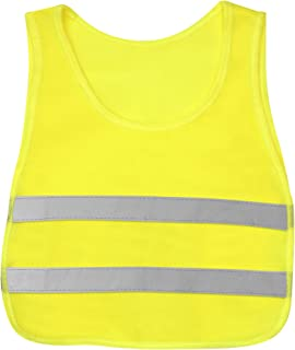 KidCo Reflective Vest - Yellow Neon - Illuminate Kids at Play During Daylight, Dawn and Dusk