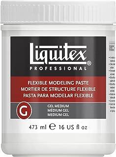 Liquitex Professional Flexible Modeling Paste Medium, 16-oz, 16 oz, White