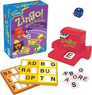ThinkFun Zingo Word Builderアーリーリーディングゲーム-プリリーダーとアーリーリーダー向けの受賞ゲーム[1つのサイコロが含ま]