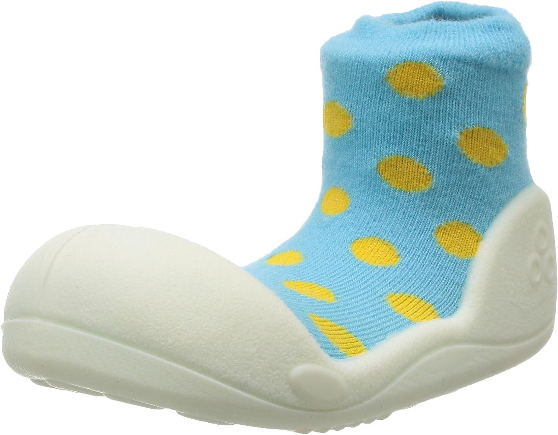 Attipas Girl's Polka Dot Shoe Sky 5.5