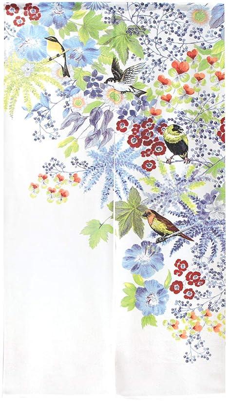 苦行秘密の最終のれん タペストリー 間仕切り 目隠し おしゃれ 素敵 85×150cm 鳥のささやき ラナイ