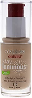 COVERGIRL Outlast Stay Luminous Foundation Classic Ivory 810, 1 oz (packaging may vary)