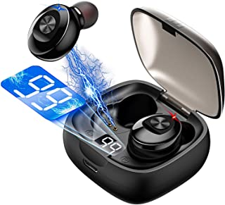 $35 » Sponsored Ad - Bluetooth 5.0 Earphone Stereo Wireless Earbus 8D HiFi Sound Sport Earphones Handsfree Gaming Headset with M...