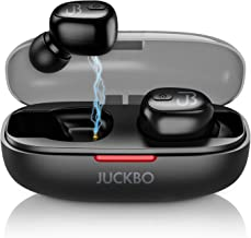 Wireless Earbuds, Bluetooth 5.0 Headphones/Earbuds, Sweatproof Sports Earbuds Built-in Mic Noise Cancelling Hi-Fi Stereo Sound for Running/Workout Compatible with Samsung Android iPhone Cellphones