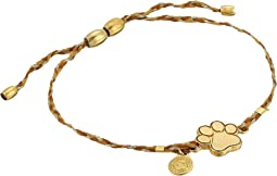 Alex and Ani - Precious Threads Paw Print Orchard Braid Bracelet
