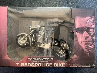 ラジコン ターミネーター3 T-850 police bike ミニバイク RC アーノルドシュワルツェネッガー TERMINATOR T3 映画 グッズ