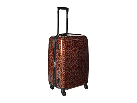 "Ck-510 Signature Hardside 24"" Upright Suitcase, Brown"