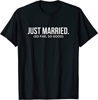 Couple Shirt Just Married T-Shirt