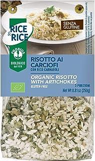 Rice & Rice Risotto con Alcachofas Bio - 2 Paquetes de 1 x 250 gr - Total: 500 gr