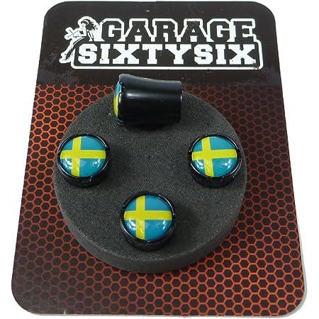 Garage Sixtysix Ventilkappen Schweden Modell Milwaukee Schwarz Auto