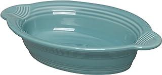 Fiesta Dinnerware Small Oval Casserole Baker Dish, Turquoise