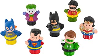 Little People Fisher Price DC Super Friends Exclusive Figure Pack of 7