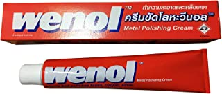 6本セット Wenol ウィノール (ウェノール) 金属磨きクリーム 100g 並行輸入品